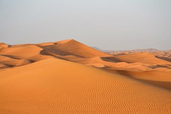 Capodanno nel deserto dell'Oman