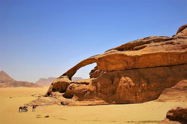 Capodanno 2020 nel deserto del Wadi Rum 1